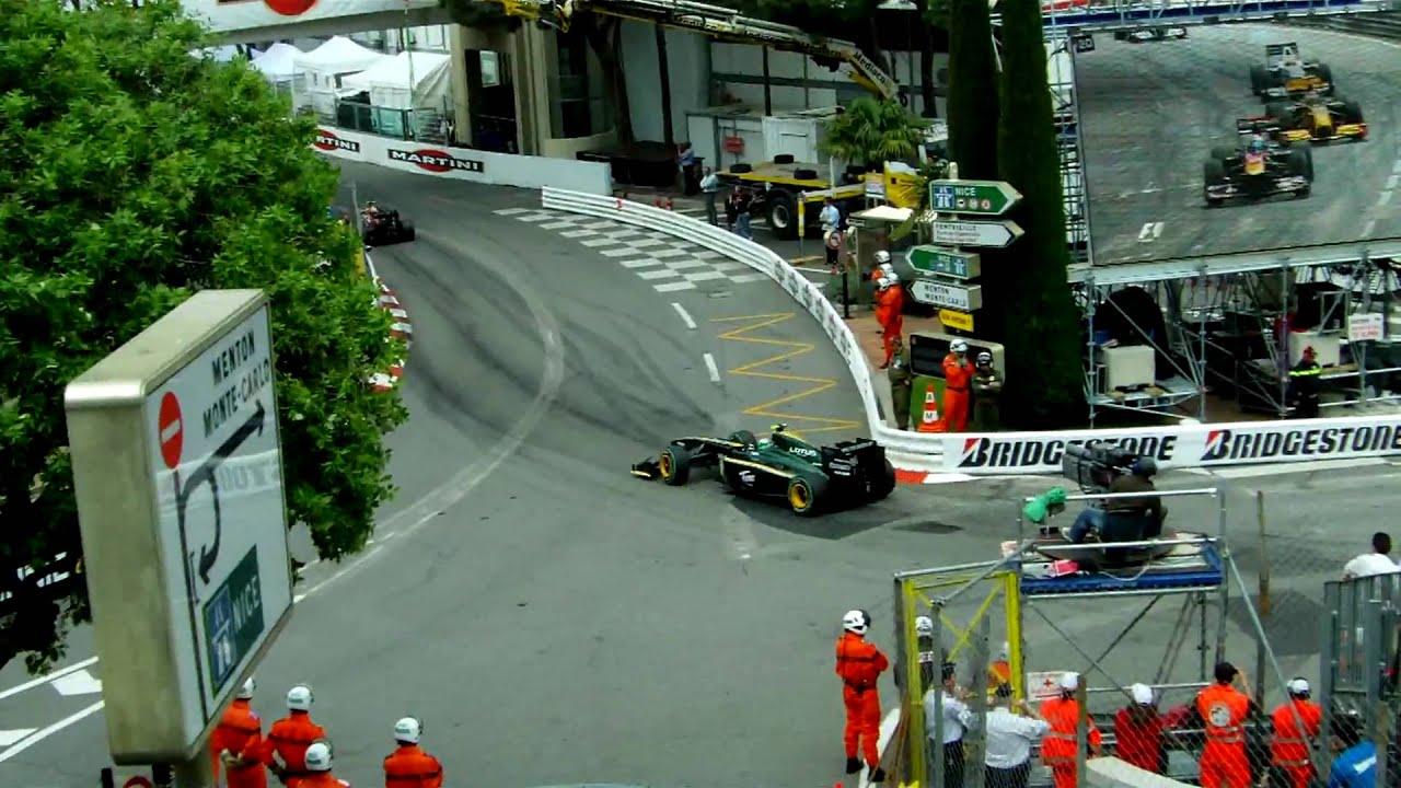 [HD] Grand Prix De Monaco 2010 - Le Rocher - Départ - YouTube