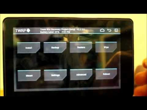 How to install KFU v0.9.6 & TWRP Recovery on the Kindle fire