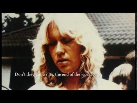 Agnetha Faltskog - The End of The World