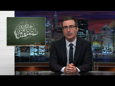 Back To School (Web Exclusive): Last Week Tonight with John Oliver (HBO)