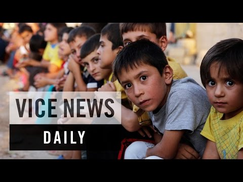 VICE News Daily: English Lessons For Iraq's Yazidi Children