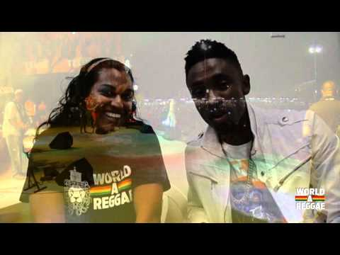 Christopher Martin And Cecile Interview Live  Sxm Carnaval 2012 video
