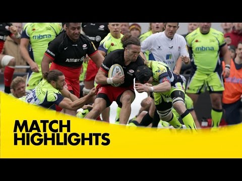 Saracens Vs Sale Sharks - Aviva Premiership 2015/16