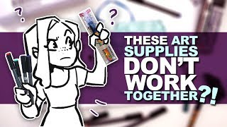 NEVER SHOULD HAVE BEEN MAILED OUT? | Mystery Art Box | October ArtSnacks Unboxing