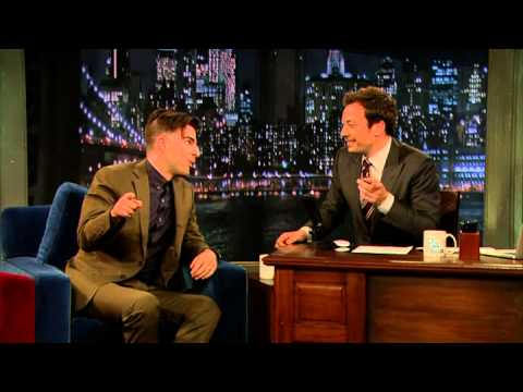 Late Night with Jimmy Fallon Zachary Quinto's Ultimate Vulcan Moment