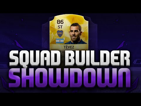 SQUAD BUILDER SHOWDOWN VS ANDY!!!| CARLOS TEVEZ!