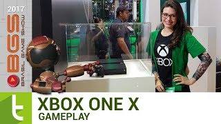 BGS 2017: Gameplay do Xbox One X | TudoCelular.com