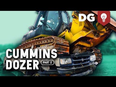 On-Road to Off-Road 12v Cummins Conversion | Komatsu Bulldozer [EP2]