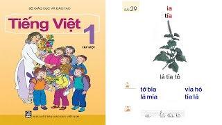 dạy bé học bảng chữ cái tiếng việt lớp 1| day be hoc bang chu cai tieng viet lop 1| Tập 1 Bài 29