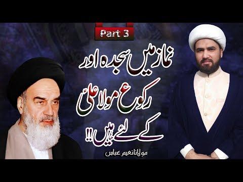 Namaz Myn Sajda Aur Ruku Maula Ali (a.s) Ky Liye Hyn !!   Part 3   Maulana Naeem Abbas   4K