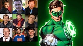 "Characters Voice Comparison - Green Lantern ""Hal Jordan"""