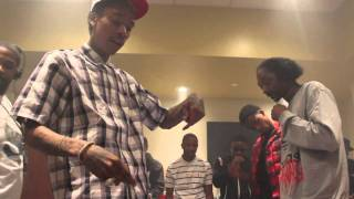 "Snoop and Wiz ""That Good"" Backstage at Power 106's Power House"