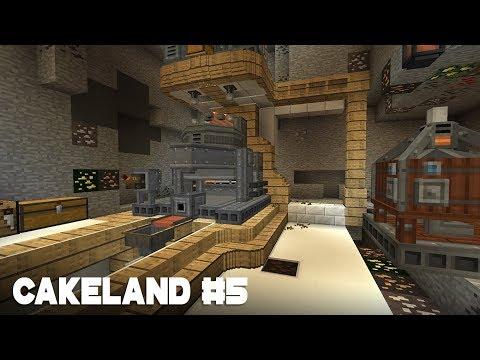 CakeLand #5: Промышленная зона и Обход других игроков | SevTech: Ages
