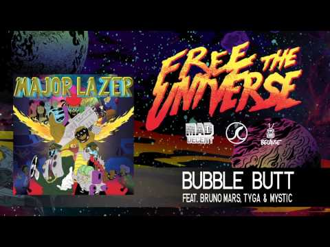Major Lazer - Bubble Butt featuring Bruno Mars, Tyga & Mystic [OFFICIAL HQ AUDIO]