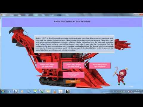 aplikasi Java netbeans rantai pasok agroindustri gula tebu