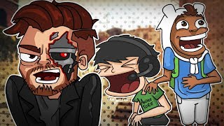 CS:GO Funny Moments - GOD SQUAD! Terroriser Kicked For Teamkilling!