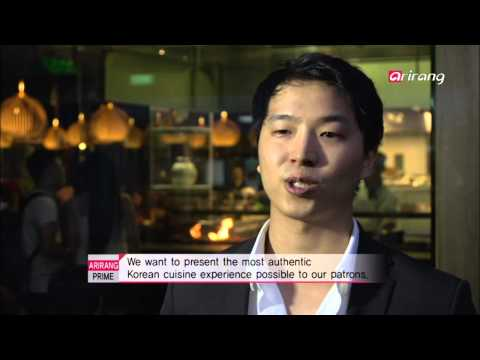 Arirang Prime - Ep182C05 Kimchee, popularizing Korean food in the heart of London