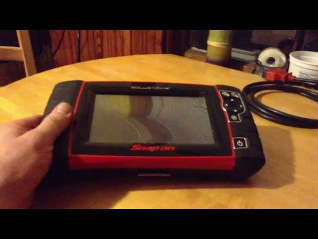 Amesie's Corner - Snap On Solus Ultra automotive scanner