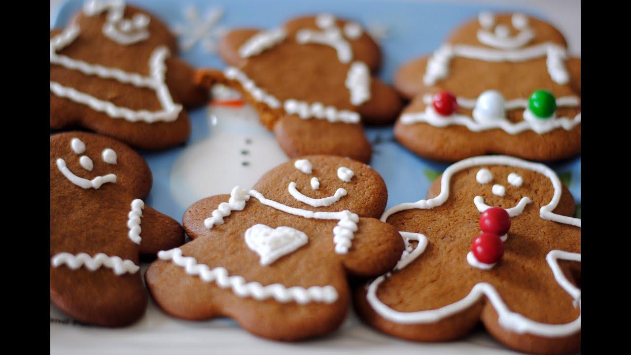 Gingerbread Men & Women Cookie Recipe - How To Make Gingerbread ...