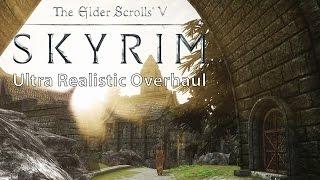 Skyrim – Ultra Realistic Overhaul Mod Collection vs. Vanilla Comparison [WQHD]