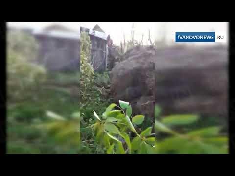 Ураган в Ивановской области наделал бед