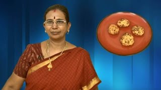 Keerai Vadai | Mallika Badrinath Recipes | Evening Snacks