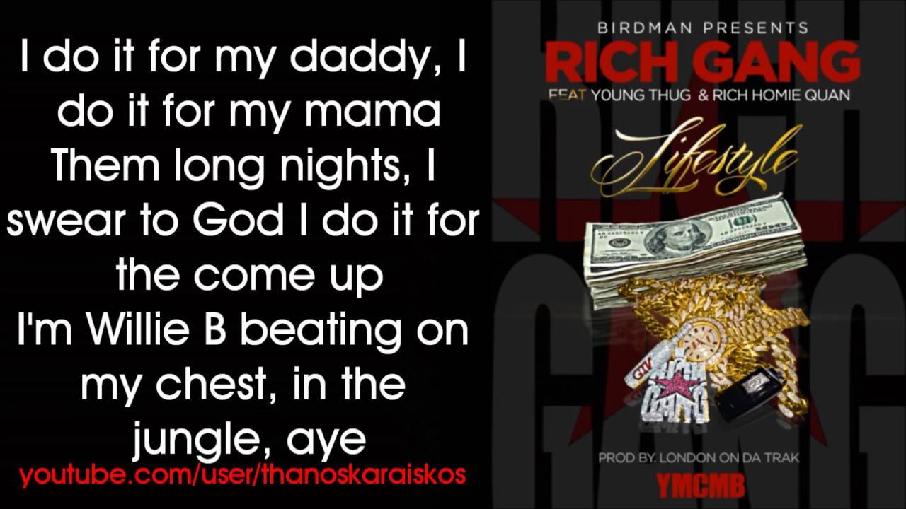 Rich Gang - Lifestyle ...