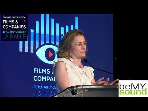 Le pitch sur beMYsound au festival Films & Companies