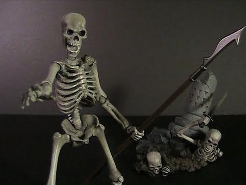 TJ Reviews: Revoltech Skeleton Army