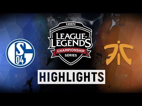S04 vs. FNC - EU LCS Week 5 Day 1 Match Highlights (Spring 2018)