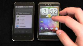 T-Mobile G2x vs. HTC ThunderBolt Dogfight Part 1