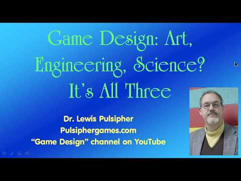 Game design: art, engineering, science, all three?