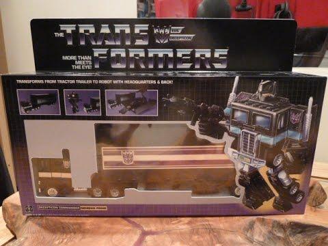 Transformers G1 NEMESIS PRIME Review