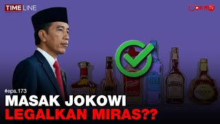 Denny Siregar: MASAK JOKOWI LEGALKAN MIRAS??