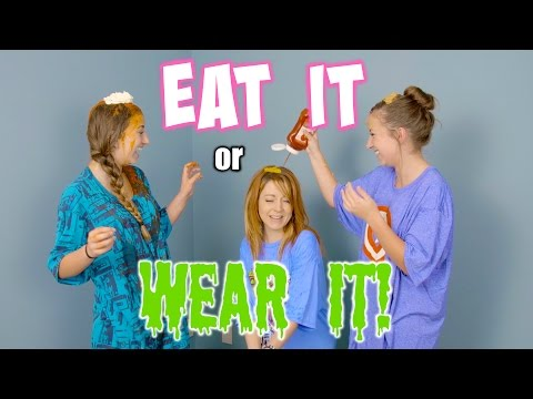 Eat It or WEAR IT Challenge  {ft. Lindsey Stirling}