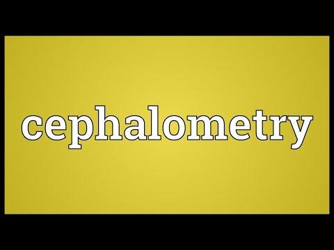 Header of cephalometry