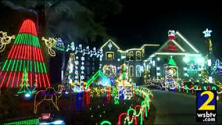 Christmas in the Grove in Decatur features over 115,000 lights