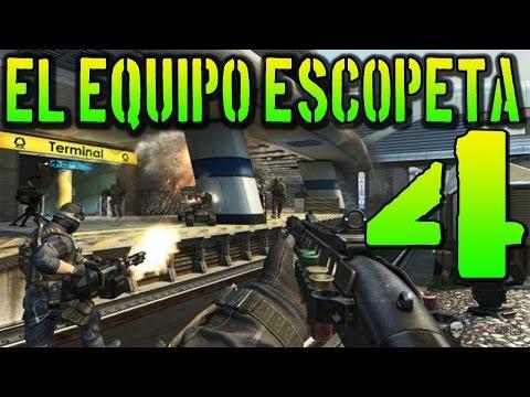 BO2 EL EQUIPO ESCOPETA #4 CASI ME LA LIA A MI!! BLACK OPS 2 BUSCAR Y DESTRUIR
