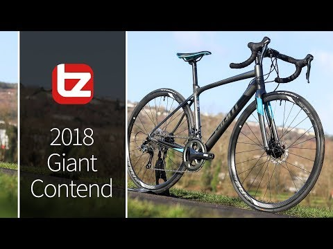 2018 Giant Contend | Range Review | Tredz Bikes