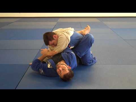 bjj closed guard gi skirt choke series Image 1