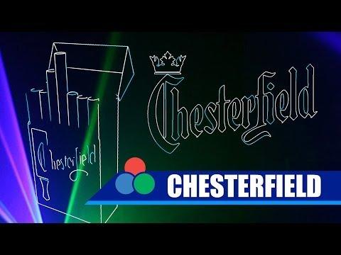 Лазерная реклама компании Philip Morris (Chesterfield)