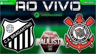 Bragantino 3x2 Corinthians   Botafogo-SP 0x0 Santos   Quartas de Final do Paulistão 2018 (Ida)