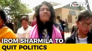 With 90 Votes After 16-Year Struggle, Irom Sharmila Bows Out Of Politics