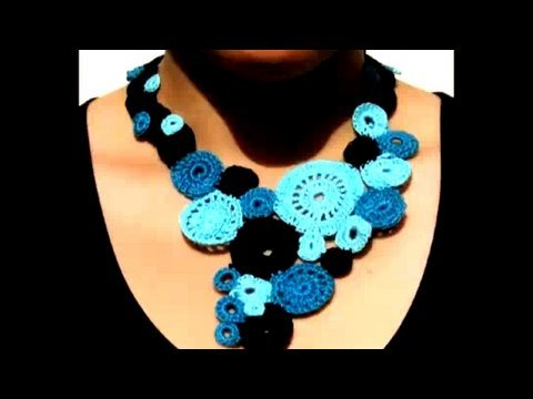 Crocheted Jewelry. Book Reviews. Threadbanger