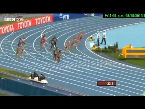 Moscow 4x100 Final - Women - IAAF World Championships