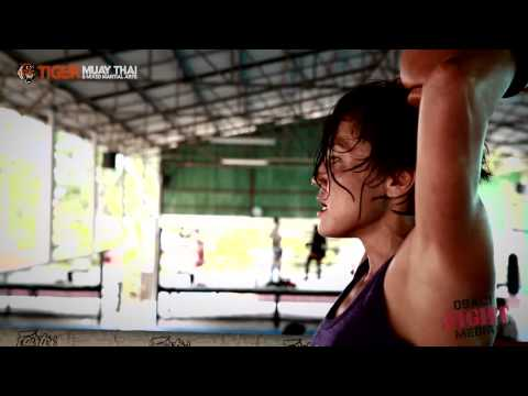 Fight Girl Jennifer Tate trains @ Tiger Muay Thai & MMA Image 1