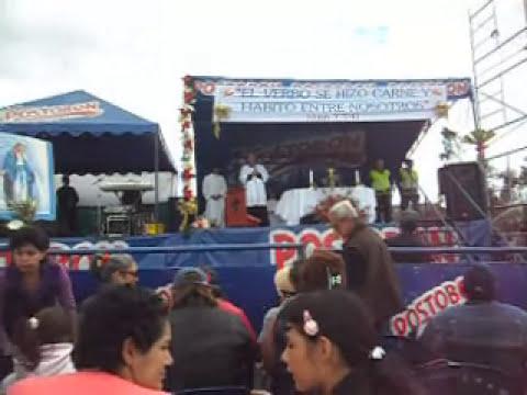 Soracá - Mensaje de la Virgen - Danza del Sol 01/12/2012