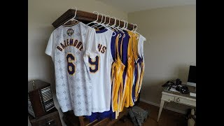 Game Worn / Team Issued Los Angeles Lakers Jerseys