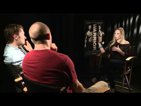 Tom Hardy and Joel Edgerton 'Warrior' Interview