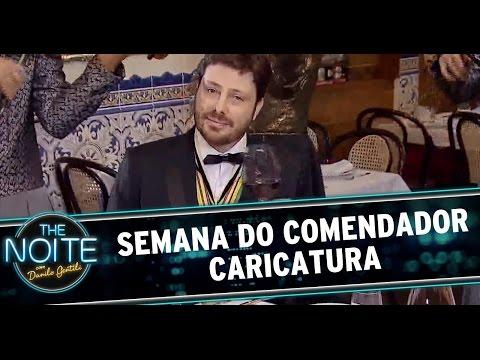 The Noite (26/11/14) - Semana do Comendado - CARICATURA